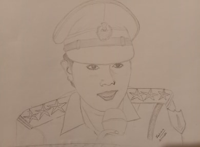 Sketch of my friend-2