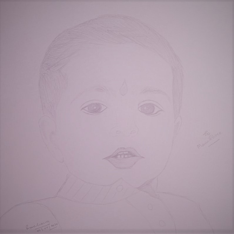 Sketch of my lovely niece!!