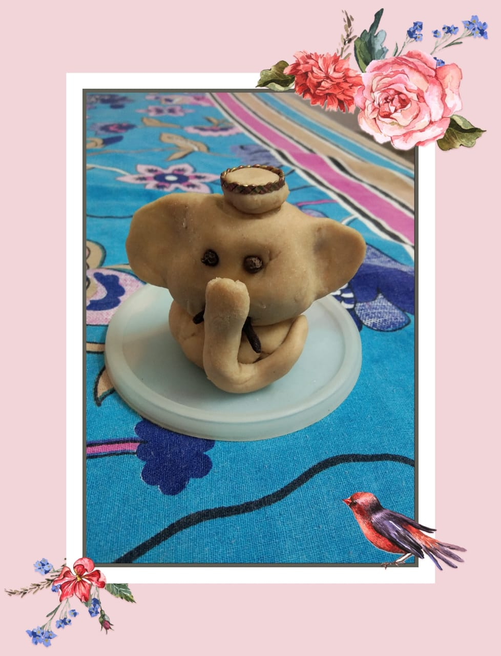 Little Lord Ganesha by my creative little nephew!!